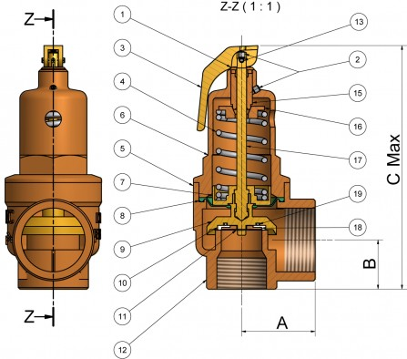 diagram of a safety valve nabic fig 500 high lift safety valve inserting images into a plug wire diagram of a of #7